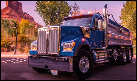 Kenworth W990 Dump Truck