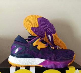 Adidas Crazy Light Boost 2016 Purple, Sepatu Basket Premium ,Sepatu Basket Murah