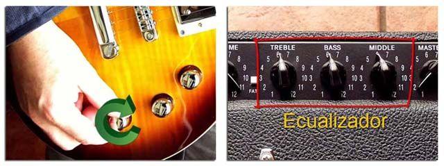 Cómo Ajustar Tono o Ecualización de Guitarra y Amplificador