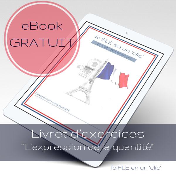 eBook gratuit: Livret d'exercices - L'expression de la quantité