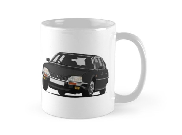 Citroën CX 2400 GTi classic car coffee mug
