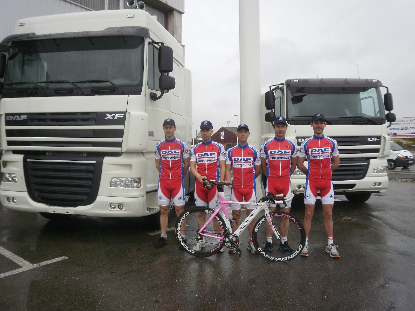 Ben2010 Cycling Team Mayo 2012 # Muebles Telletxea