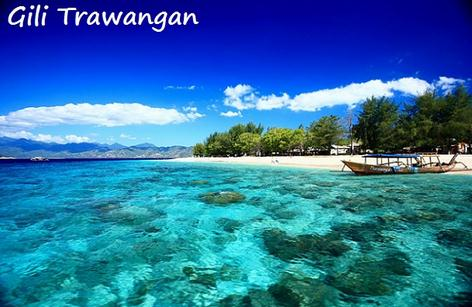 Tempat wisata gii trawang, gili meno dan gili air di Lombok