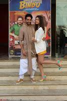 Parineeti Chopra with Ayushmann Khurrana at the Launch of Trailer of Meri Pyaari Bindu 030.JPG