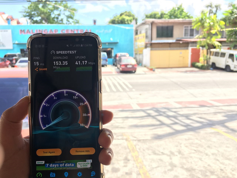 Smart said 92 percent of its sites in Metro Manila are now equipped with LTE