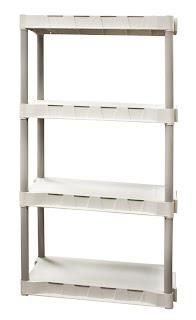 couponing storage shelf