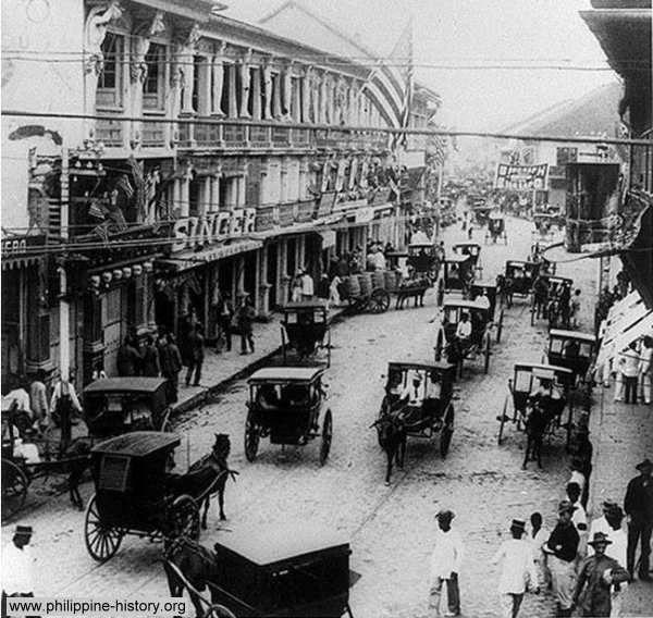 Chinatown Manila circa 1898