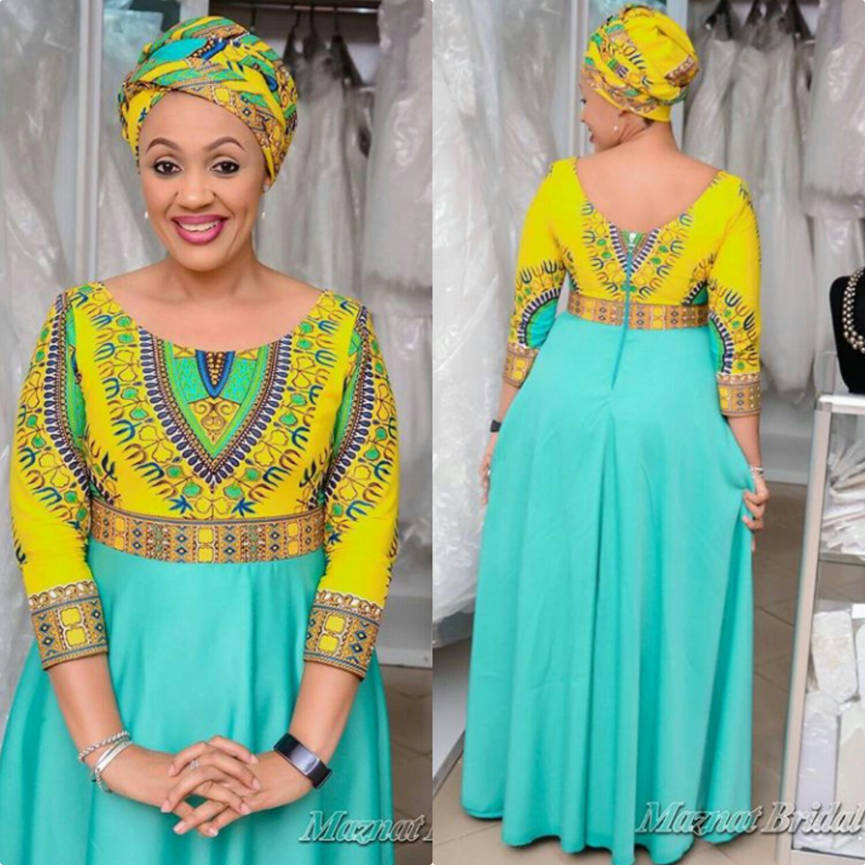 Kitenge African Print Women Fashion