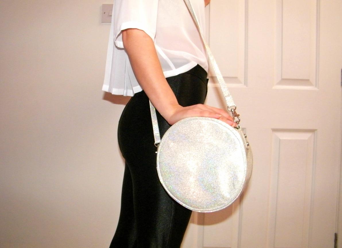H&M Glitter Bag