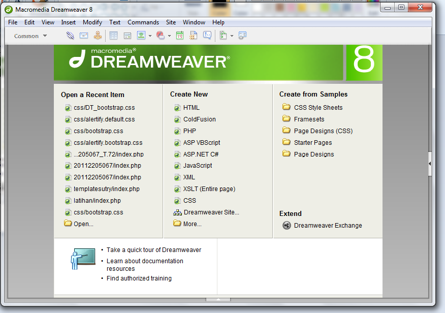 Создание сайта php dreamweaver создание сайта под ключ интернет магазина