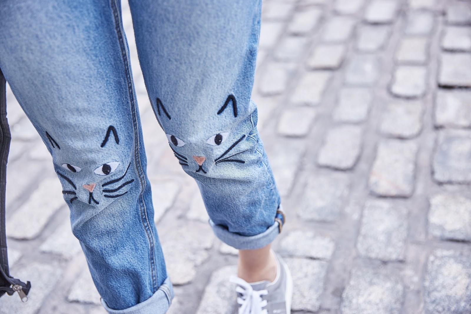 cat jeans