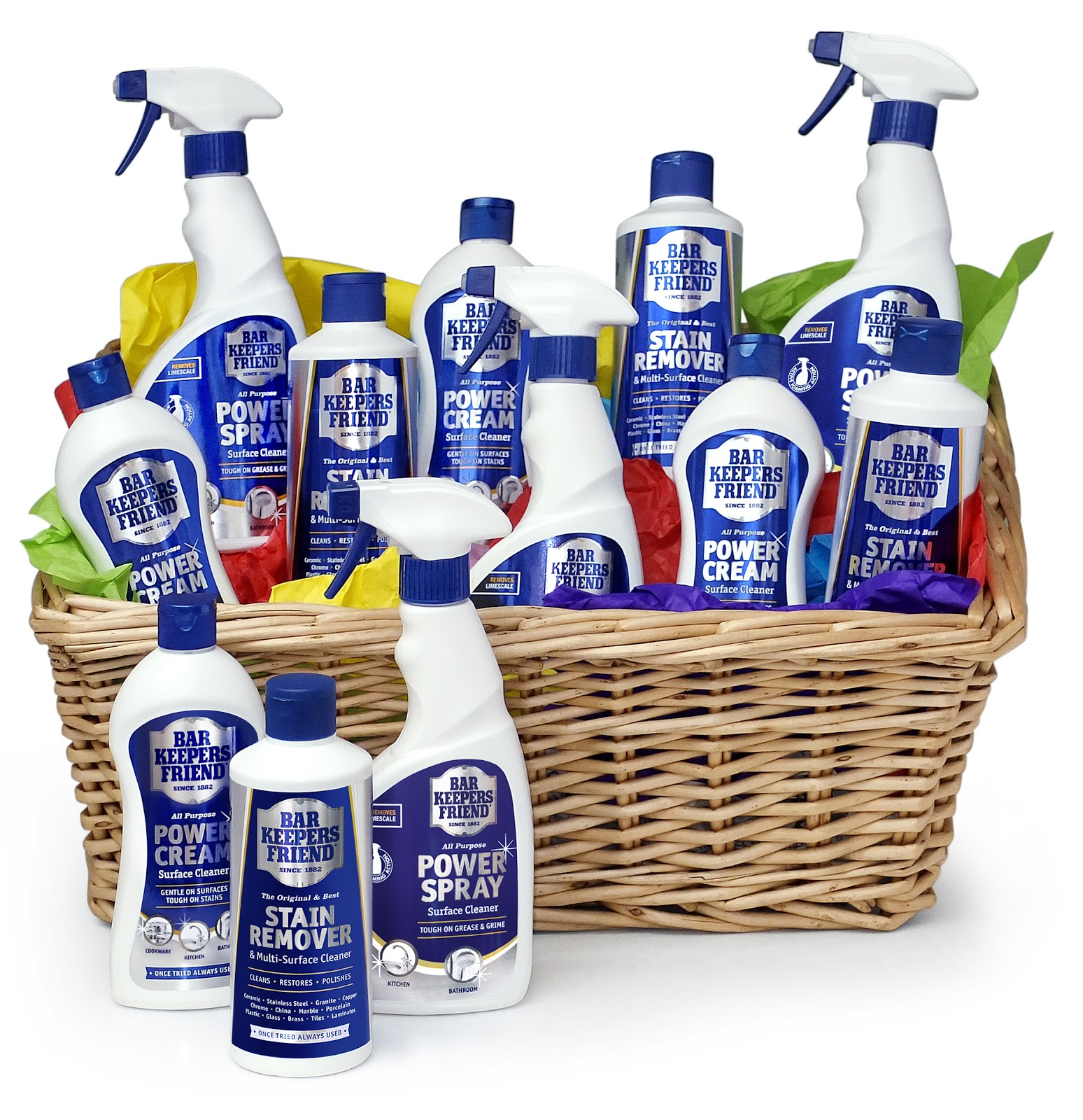 Bar Keepers Friend - Win a years supply of cleaning ...