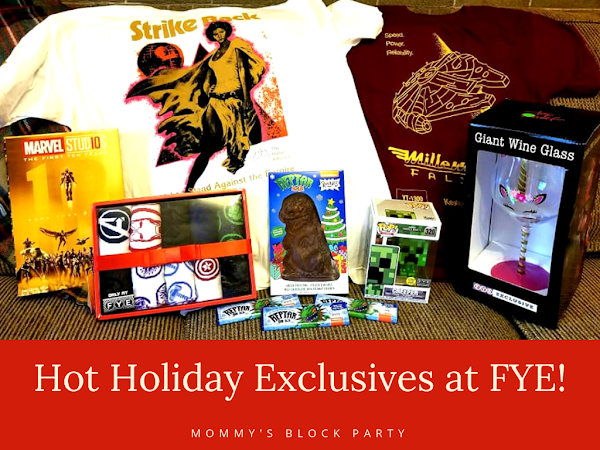 Hot Holiday Exclusives for Fanboys and Girls of Every Age at FYE + Reptar Bars Giveaway! #MBPHGG18