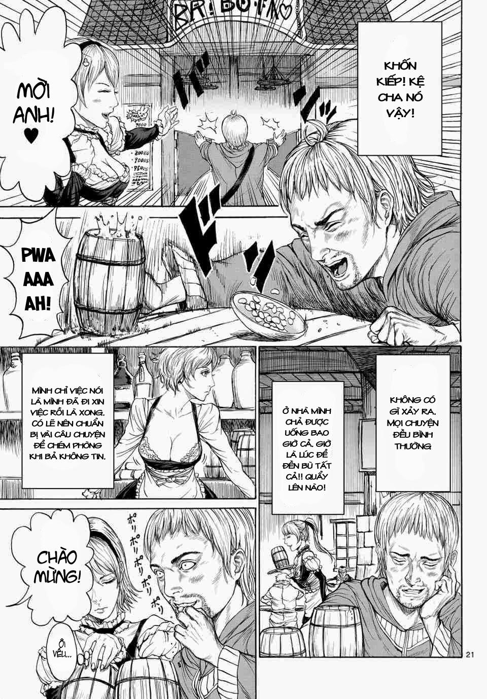 Monster X Monster chapter 1b trang 4