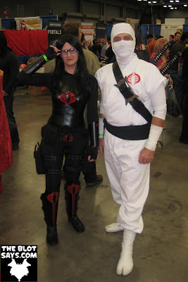 Wizard World Austin Comic-Con 2012 - G.I. Joe The Baroness & Storm Shadow