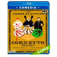 Trilogía Cornetto (2004-2013) 4K Audio Dual Latino-Ingles