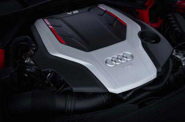 2018 Audi S5 Sportback Engine