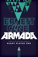 Armada by Ernest Cline book cover and review