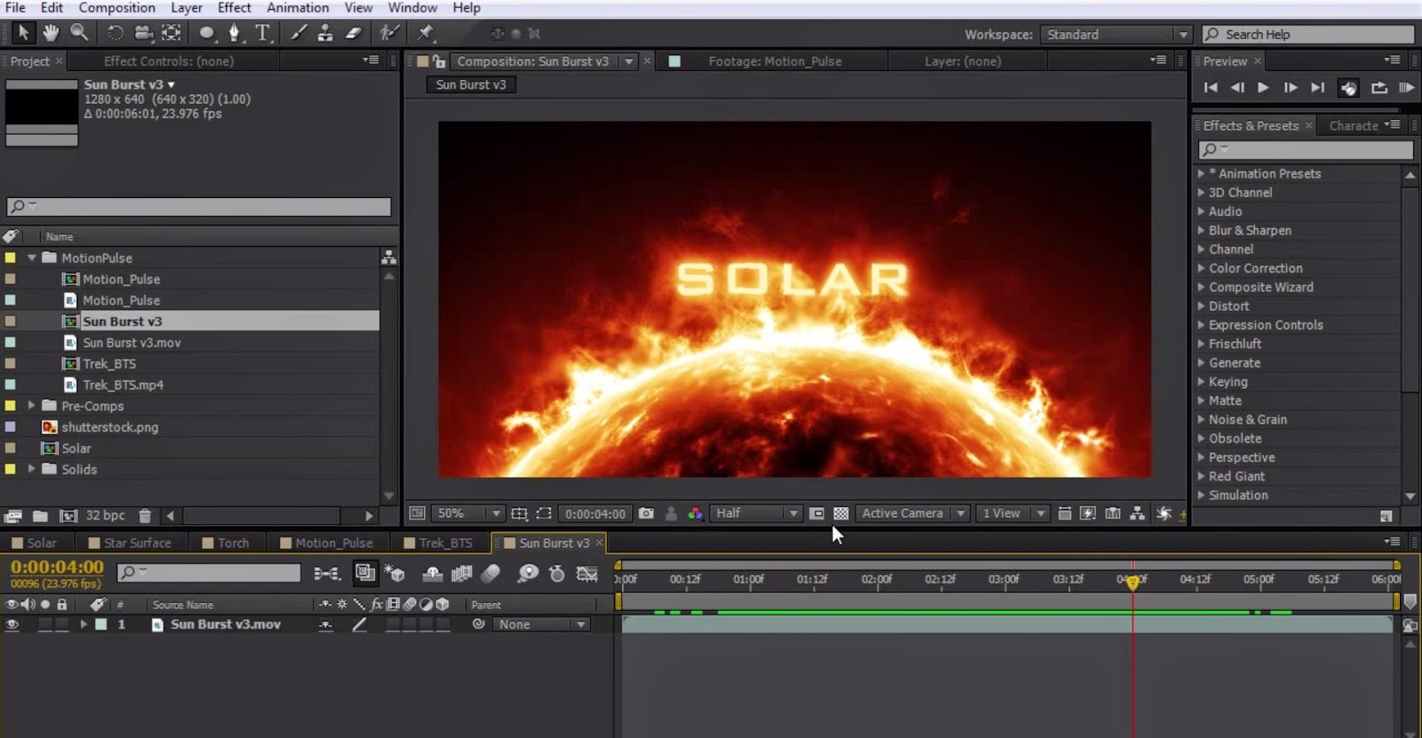 solar system after effects - photo #30