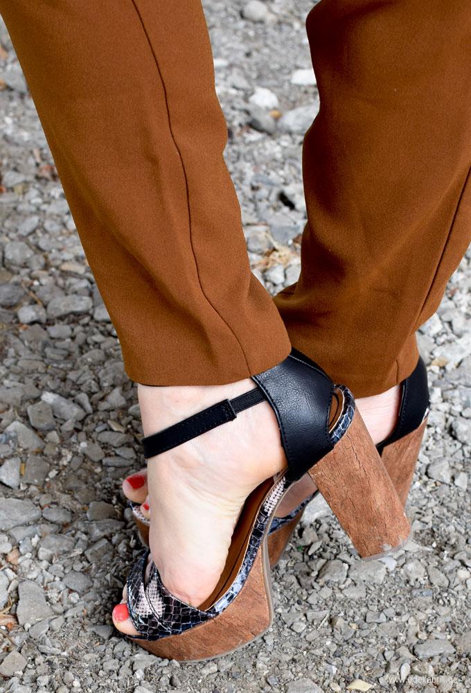 Schuhe mit Blockabsatz für Damen