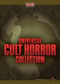 DVD cover art - TCM's Universal Cult Horror Collection