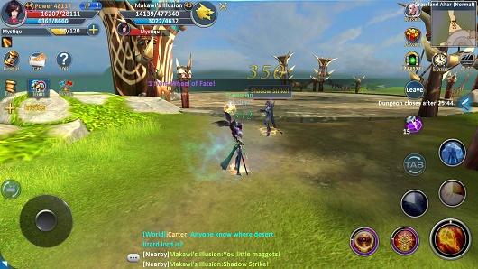 Forsaken World Mobile Grasslands Altar (Heroic) Guide: How