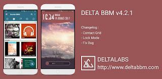BBM DELTA v4.2.1 Versi 3.3.1.24 Apk
