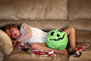 5 terroríficos consejos para no excederse con los dulces de Halloween