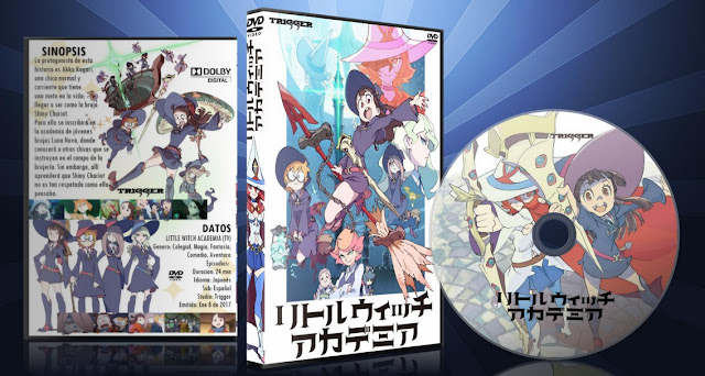 Little Witch Academia (TV)   Cover DVD  