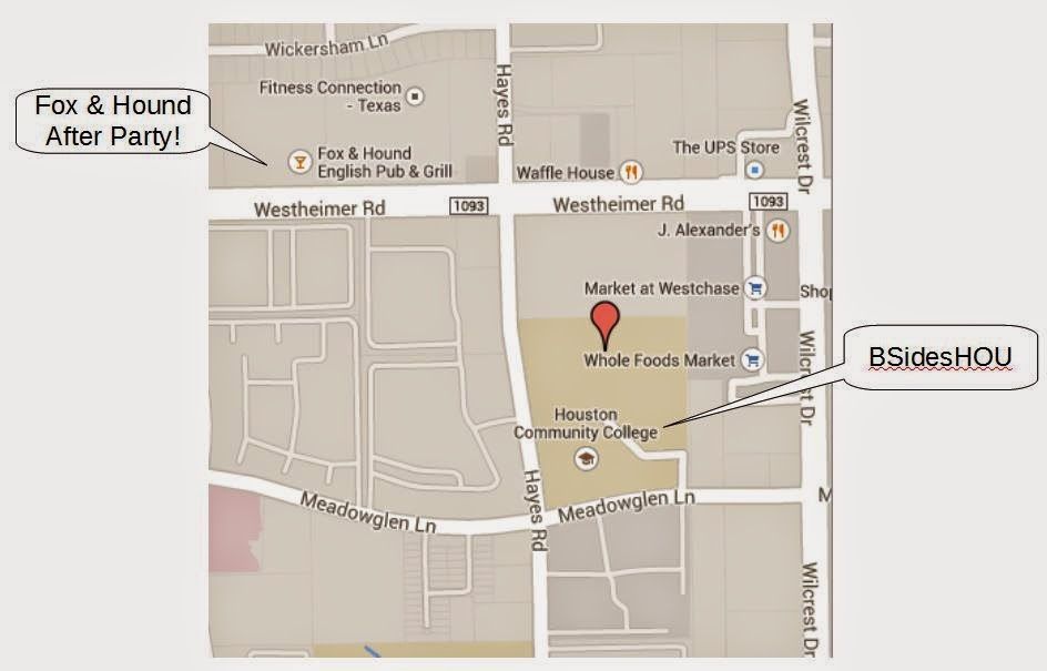 Hcc Alief Campus Map.Security Bsides Bsideshouston2014