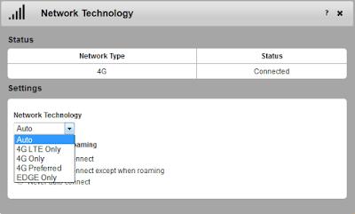 cara mengatur jaringan modem wifi sierra