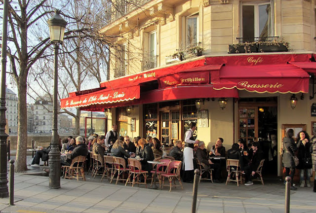 Restaurante Brasserie de L'Ile St Louis em Paris
