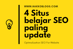 4 Situs Referensi belajar SEO Paling Update