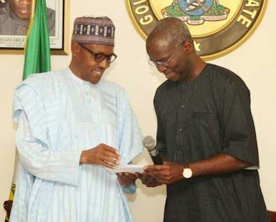 Read Fashola's take on Buhari's foreign trips