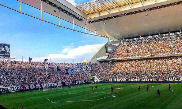 Treino aberto Corinthians e Flamengo