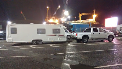 Spain UK caravan delivery and towing service