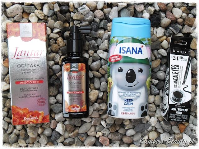 Eyeliner-Scandaleyes-Isana-Keep-Calm-Jantar-wcierka-blog-nowosci