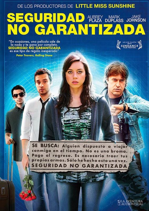 garantizada - Seguridad no garantizada (2012) [DVDRip][Castellano][Ciencia ficción]