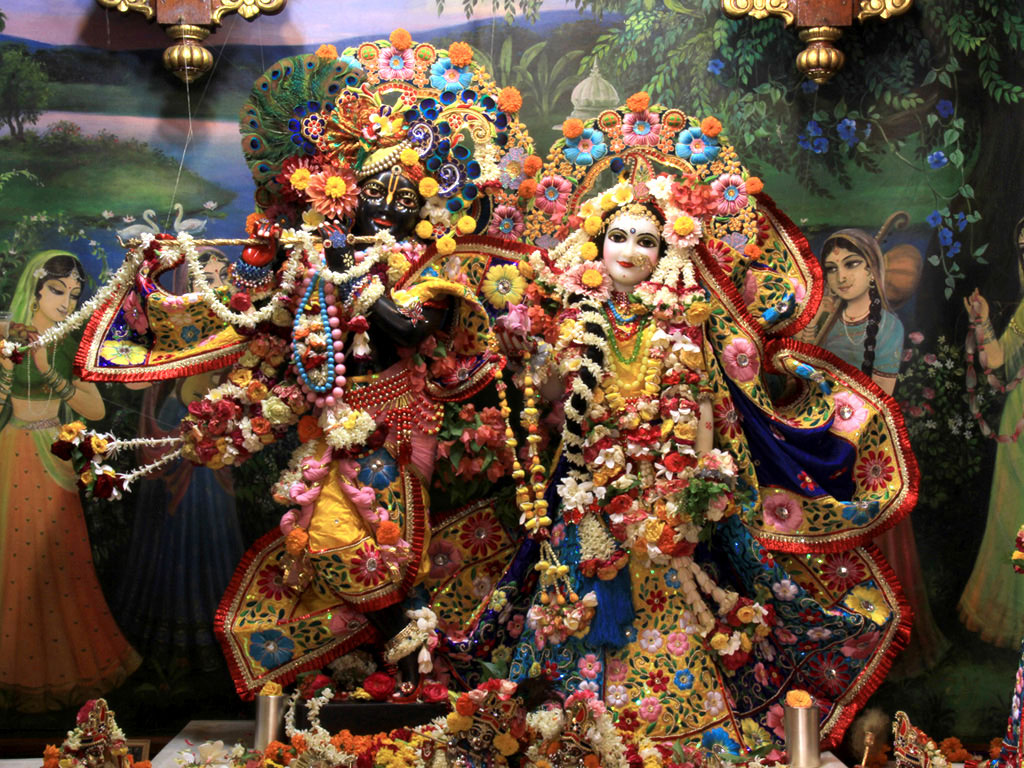 FREE God Wallpaper: ISKCON Radha Krishna Wallpapers