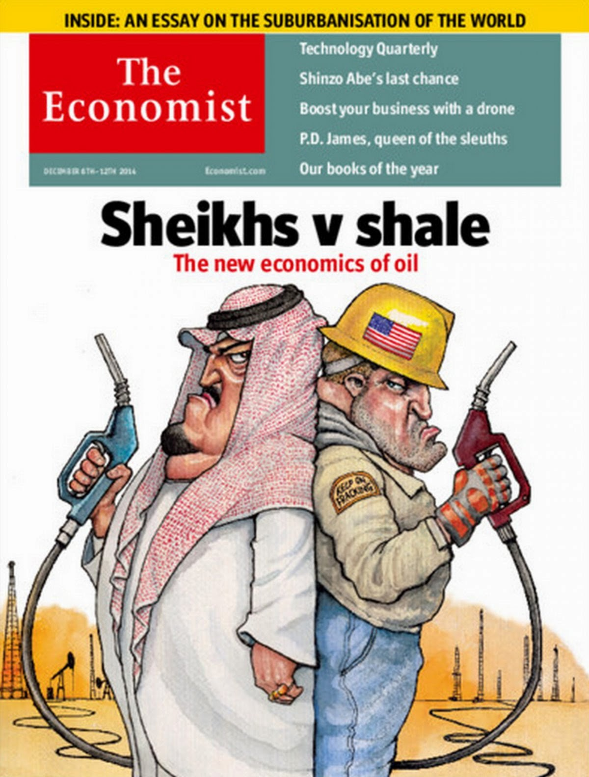 EconomicPolicyJournal com: The Oil Price Collapse Explained in One