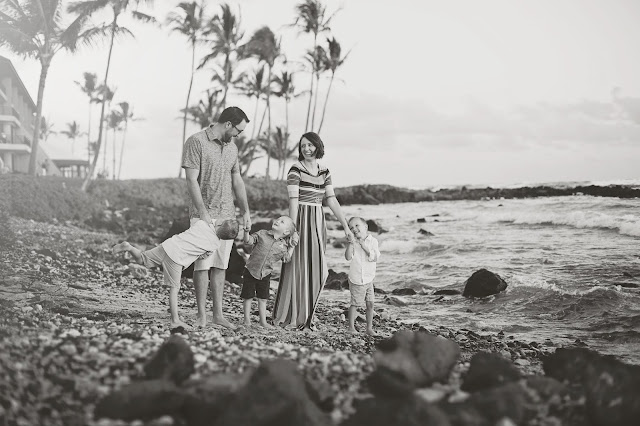 kauai family portrait photography
