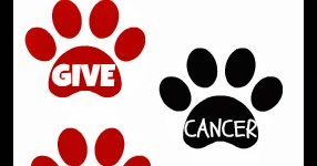 The Writer's Dog: Give Cancer The Paw Blog Hop