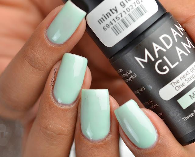 Madam glam Minty glam