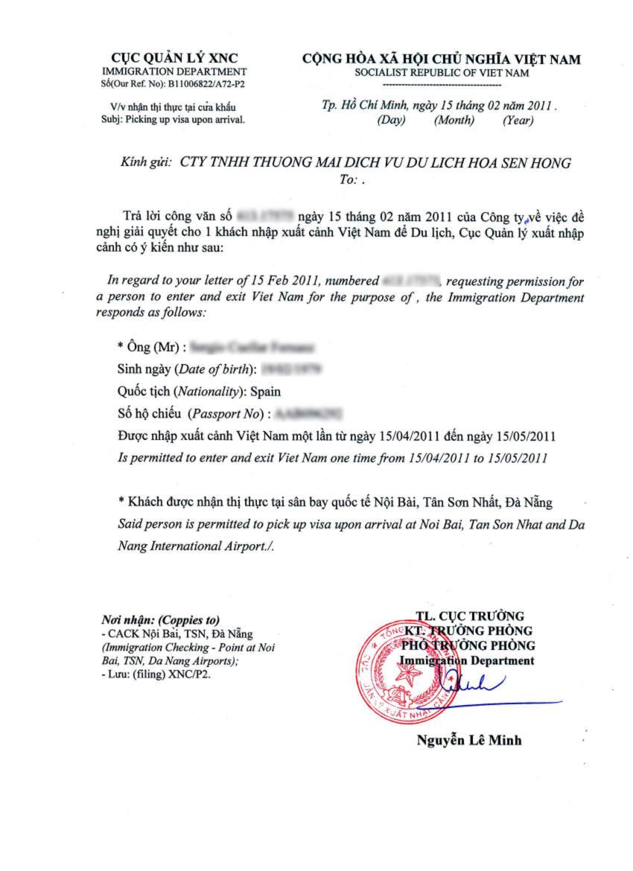 Cartaconvite para o Vietn  Vietnamitas en Madrid  Vietn