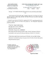 Legalización de documentos para presentar en Vietnam