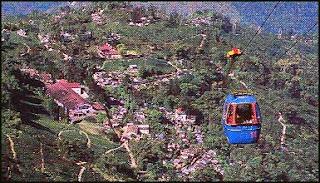 Darjeeling Rangeet Valley Passenger Ropeway service
