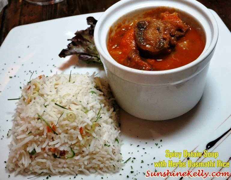 Spicy Oxtail Soup, herb basmathi rice, Basmathi Rice Replacing Risotto, Fuzio Bar & Restaurant, KL, Jasmine Pusa Gold 1121 Basmathi Extra Long Rice, Jasmine Basmathi Rice, Pusa Gold 1121 Basmathi Rice, Italian cuisine, basmathi rice, basmathi rice dishes, rice,