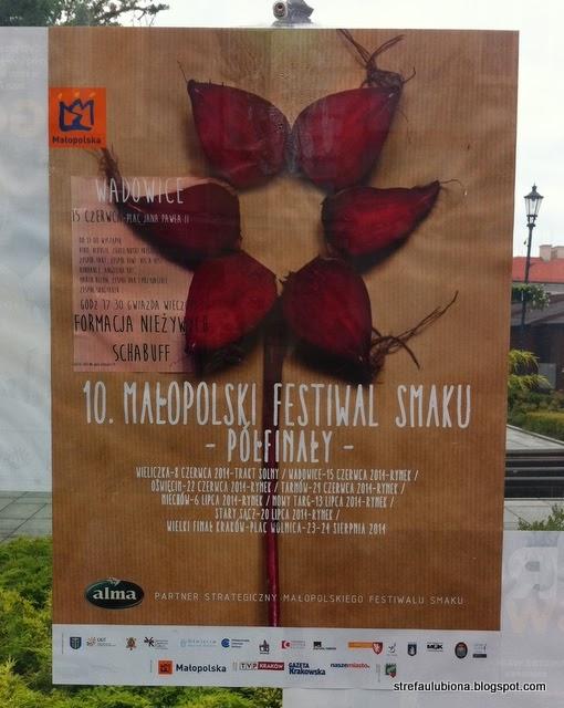 http://strefaulubiona.blogspot.com/2014/06/maopolski-festiwal-smaku-wadowice.html