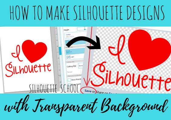 silhouette 101, silhouette america blog, transparent background, Silhouette Studio designer edition tutorials, Silhouette Studio Software tutorials