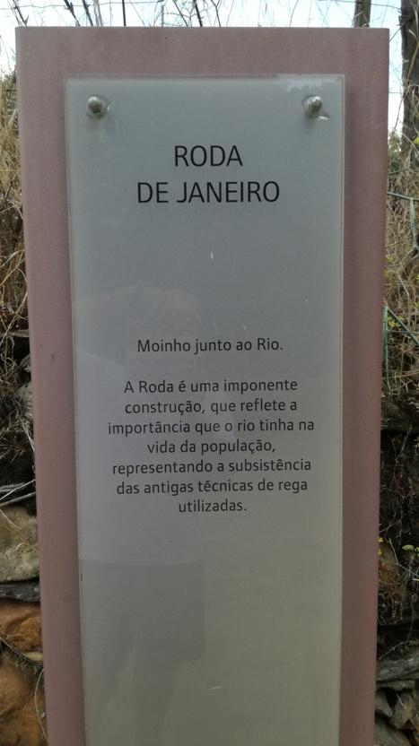 Roda de Janeiro - Placa